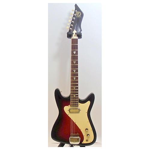 Kay 1960s K-100 Vanguard Solid Body Electric Guitar