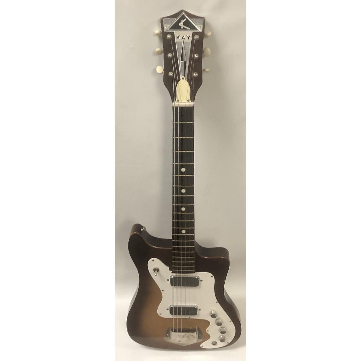 Kay 1960s K102 Vanguard Solid Body Electric Guitar