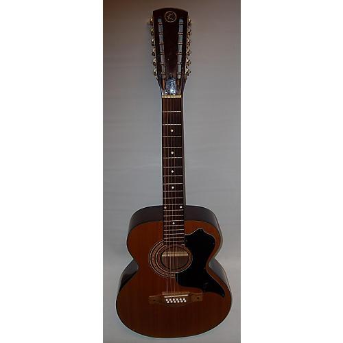 Kay 1960s K7950 12 String Acoustic Guitar