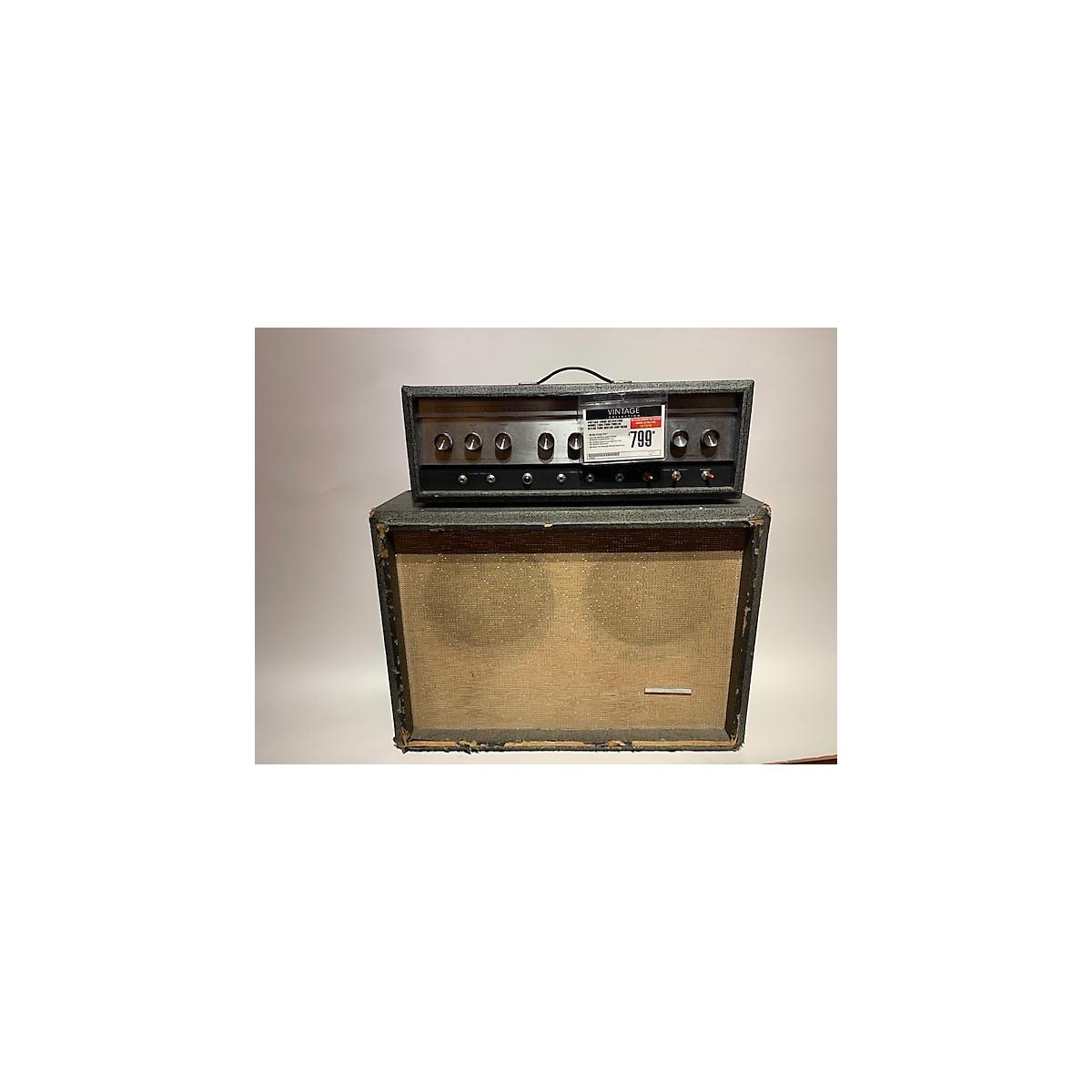 Silvertone 1960s Model 1484 Twin Twelve W/Cab Tube Guitar Amp Head