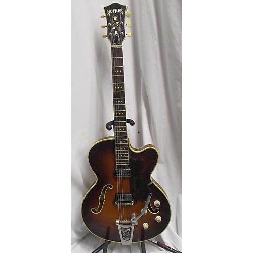 Hofner 1960s PRESIDENT Hollow Body Electric Guitar