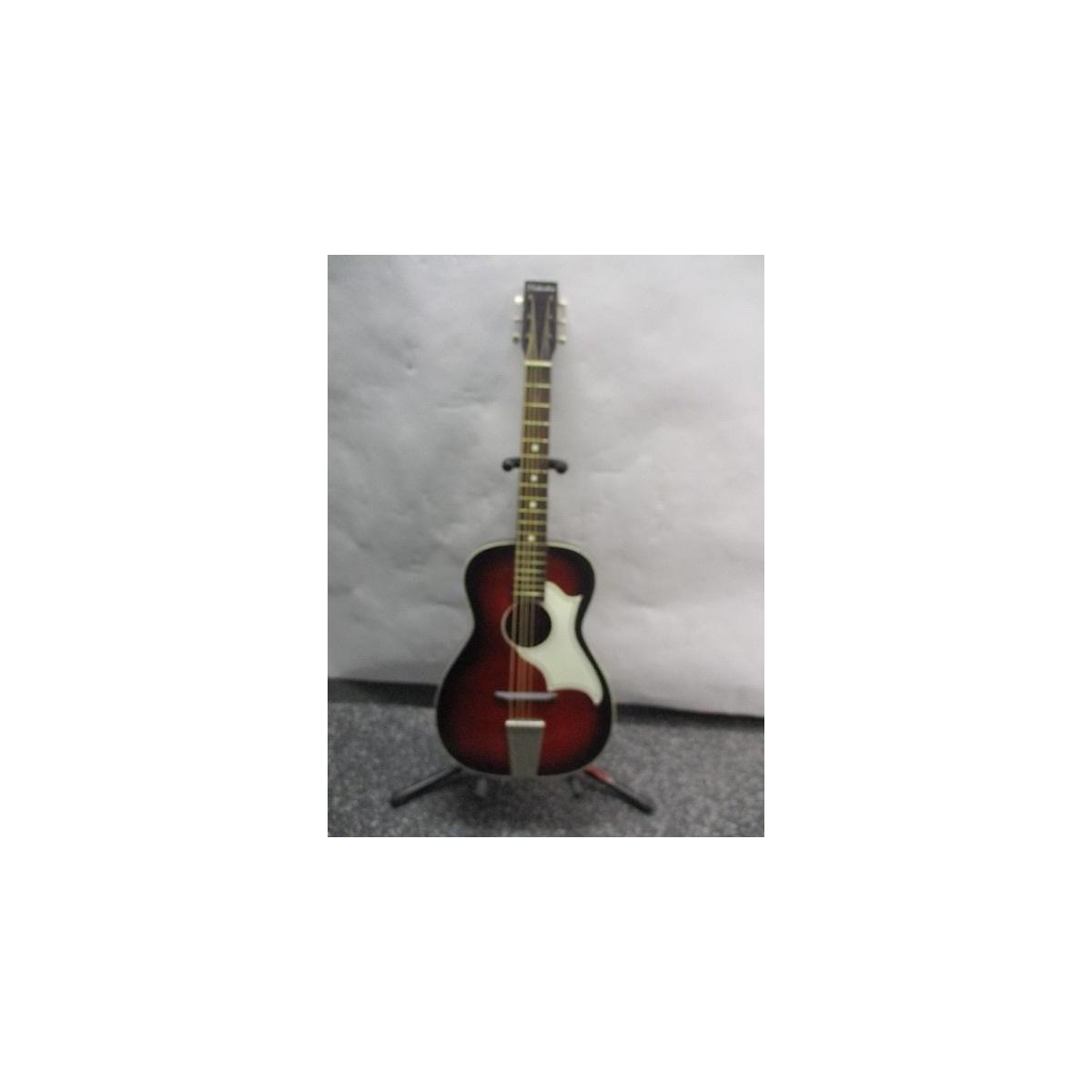 Silvertone 1960s Parlor Acoustic Guitar Acoustic Guitar