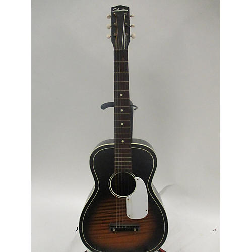 Silvertone 1960s Parlor Style Acoustic Guitar
