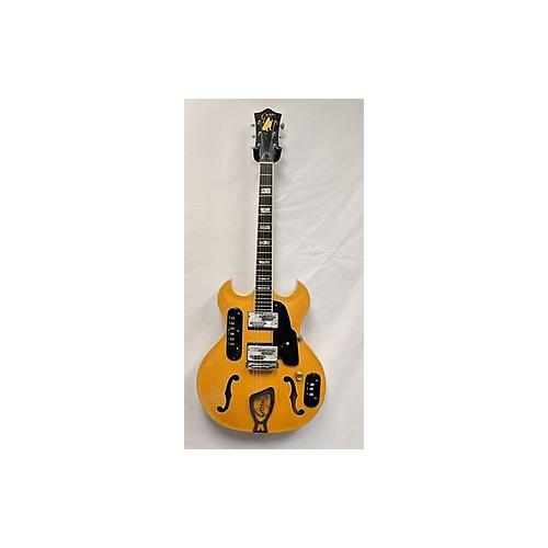 Goya 1960s Rangemaster Hollow Body Electric Guitar
