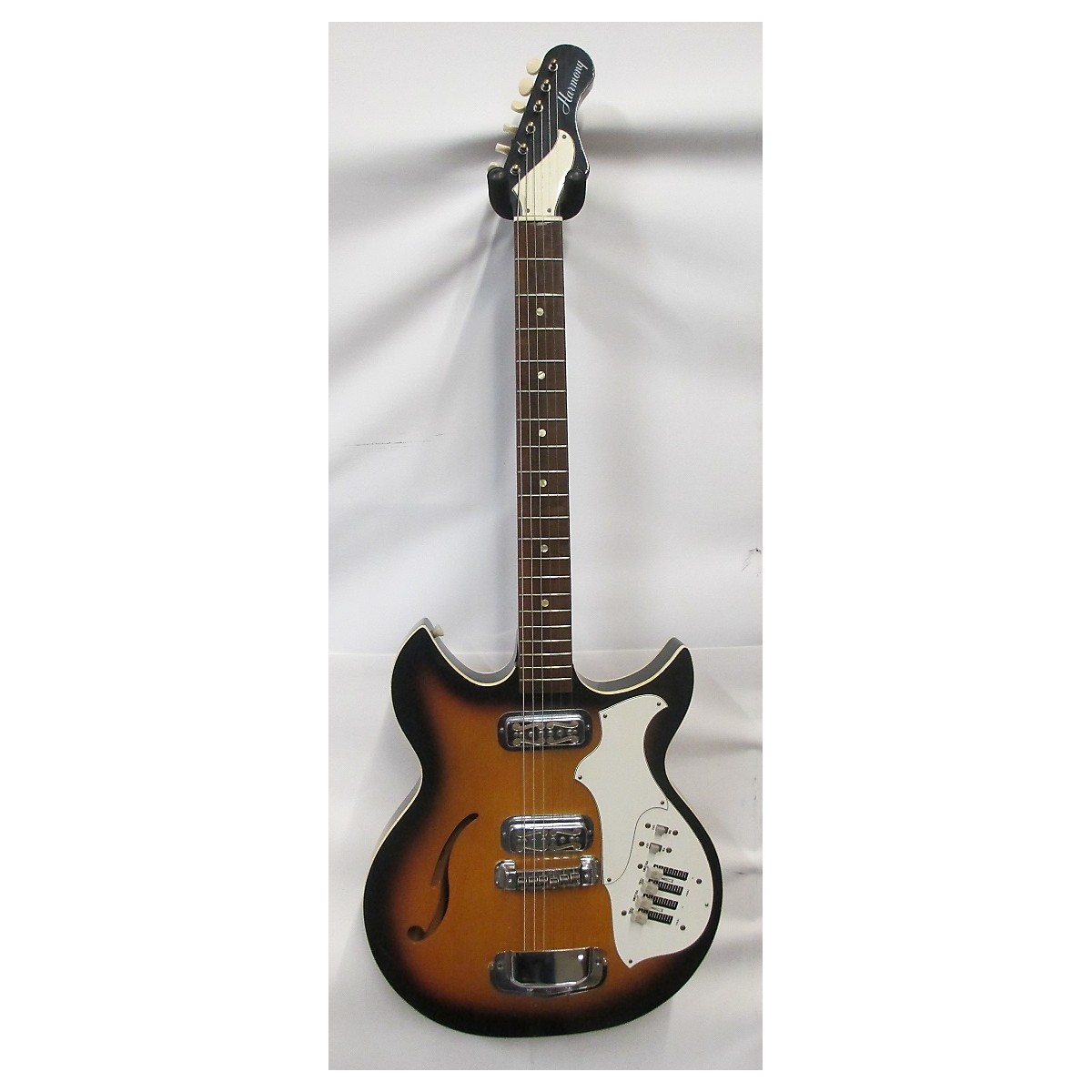 Harmony 1960s Rebel H-82 Hollow Body Electric Guitar