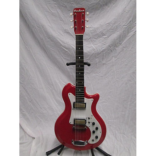 Airline 1960s ResoGlas Short Scale Solid Body Electric Guitar