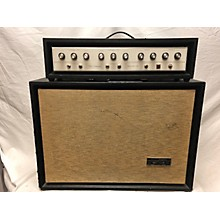 Silvertone 1960s Solid State 100 Head And Cabinet Solid State Guitar Amp Head
