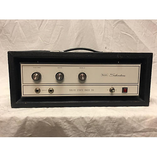 Silvertone 1960s Solid State Bass 35 Bass Amp Head