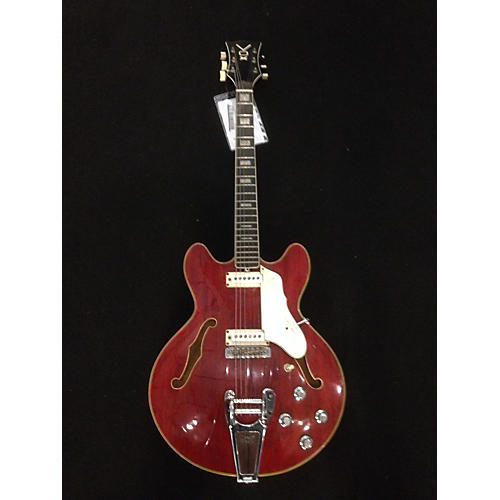 Vox 1960s Super Lynx Deluxe Hollow Body Electric Guitar