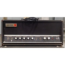 Univox 1960s TUBE HEAD AND CAB 2X12 Tube Guitar Combo Amp
