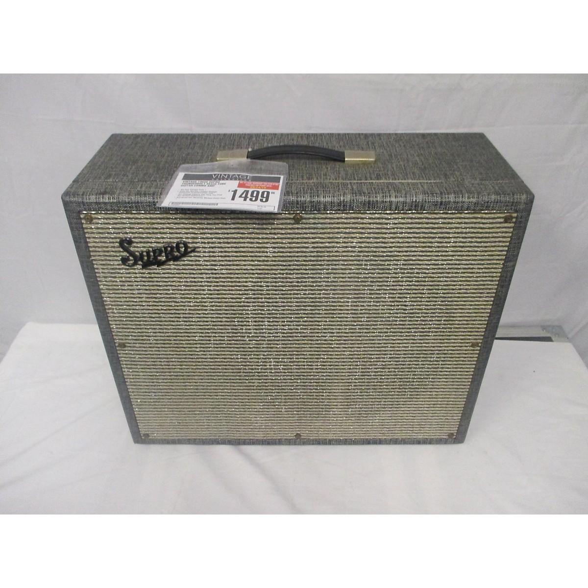Supro 1960s Thunderbolt S6420 Tube Guitar Combo Amp