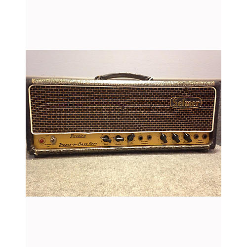 Selmer 1960s Treble N Bass 50W Tube Guitar Amp Head