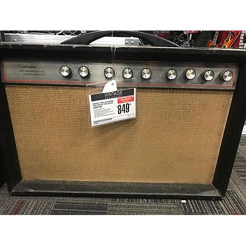 Silvertone 1960s Twin Twelve Tube Guitar Combo Amp