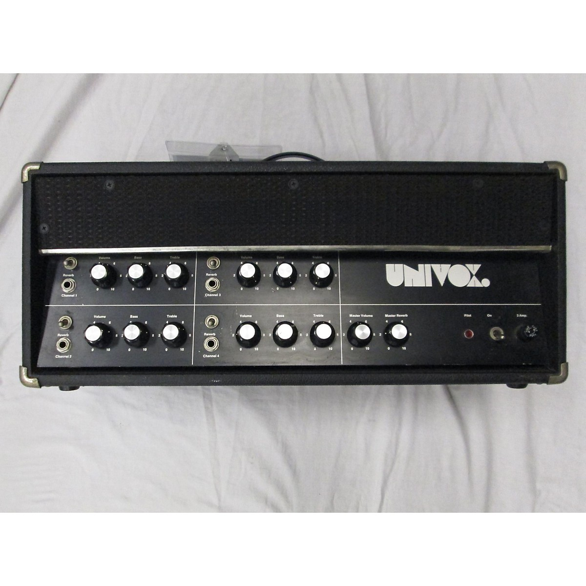 Univox 1960s U-50 Tube PA Tube Guitar Amp Head