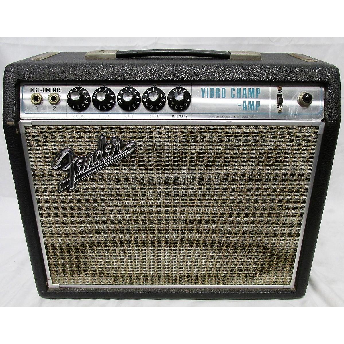 Fender 1960s Vibro Champ Amp 60s Tube Guitar Combo Amp