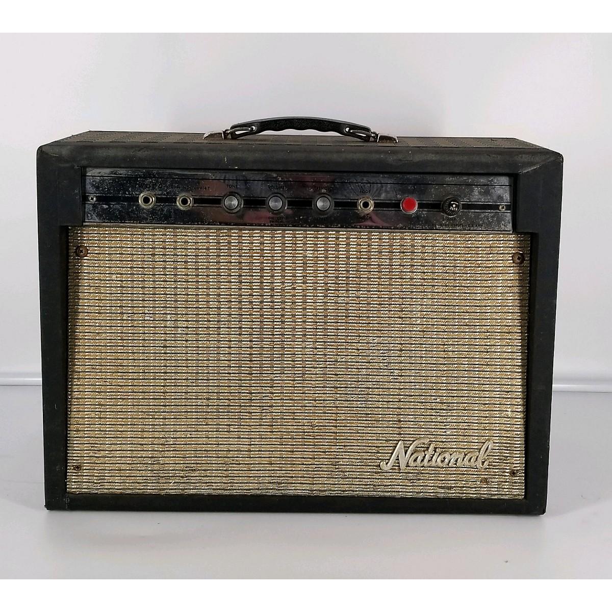 National 1960s Westwood Tube Guitar Combo Amp