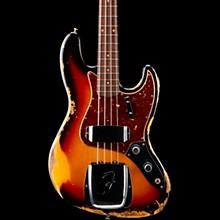 1961 Jazz Bass Heavy Relic 3-Color Sunburst
