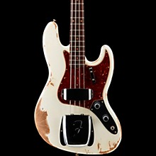 1961 Jazz Bass Heavy Relic Aged Olympic White