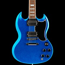Gibson Custom 1961 SG Les Paul Limited Edition Electric Guitar Blue Sparkle
