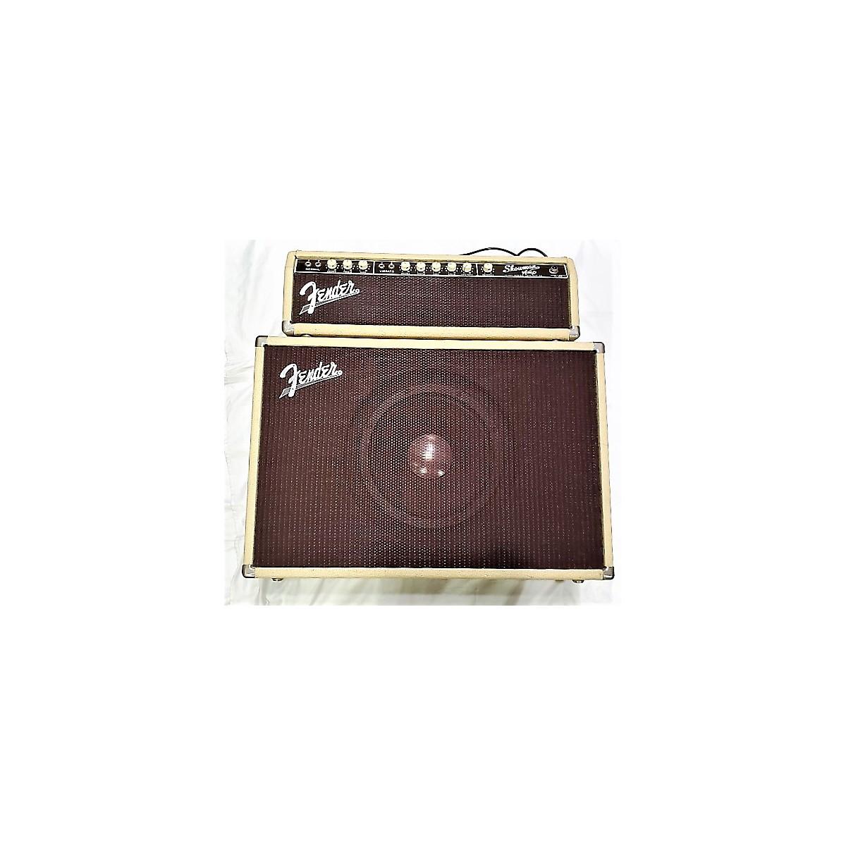 Fender 1961 Showman 12 Amp W/ Cab Tube Guitar Combo Amp