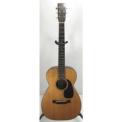 vintage martin 1962 018 acoustic guitar natural guitar center. Black Bedroom Furniture Sets. Home Design Ideas