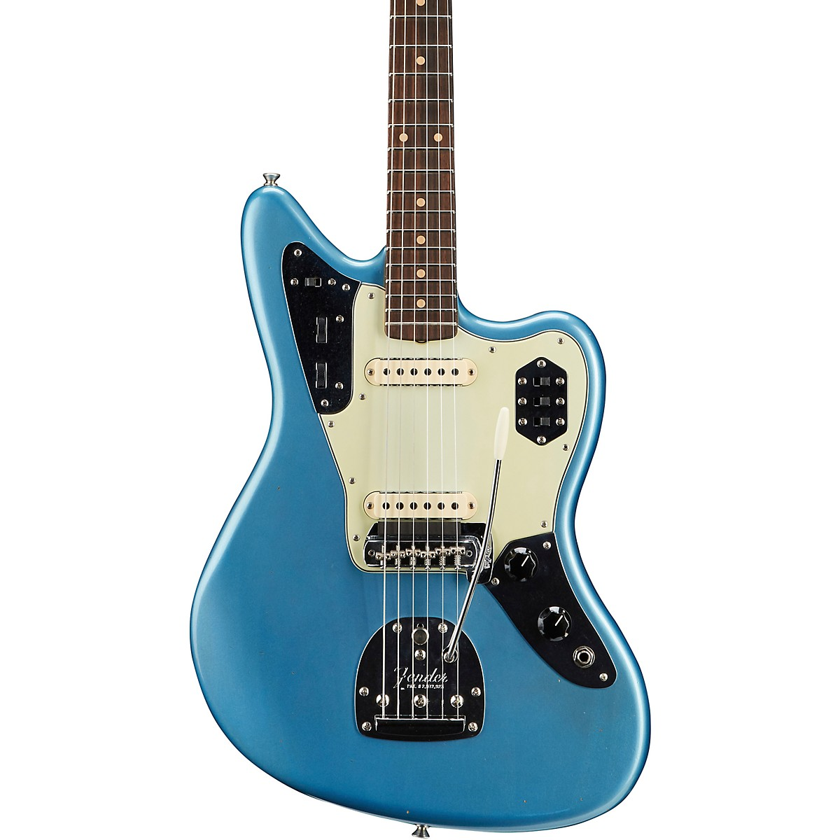 Fender Custom Shop 1962 Jaguar Journeyman Relic with Closet Classic Hardware Electric Guitar
