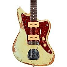 1962 Jazzmaster Heavy Relic Rosewood Fingerboard Electric Guitar Built by Vincent Van Trigt Surf Green