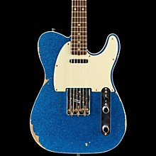 Fender Custom Shop 1962 Relic Telecaster Rosewood Fingerboard Electric Guitar Blue Sparkle