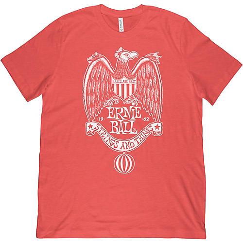 Ernie Ball 1962 Strings & Things Red T-Shirt