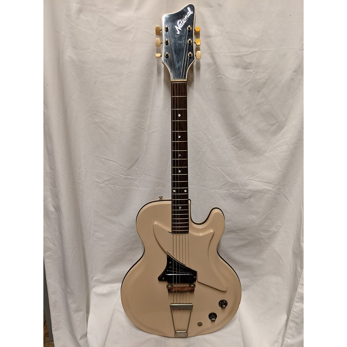 National 1962 Studio 66 Solid Body Electric Guitar