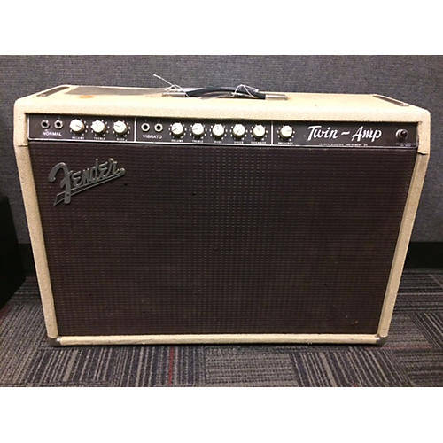 Fender 1962 Twin 2x12 Tube Guitar Combo Amp