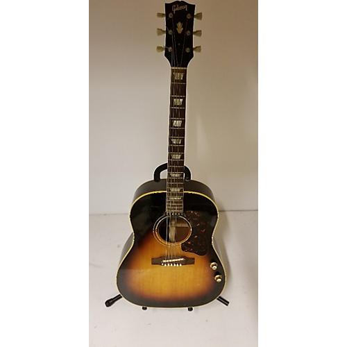 Gibson 1963 1963 Gibson J-160e Acoustic Electric Guitar