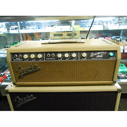 Fender 1963 BASSMAN HEAD BLONDE Tube Guitar Amp Head