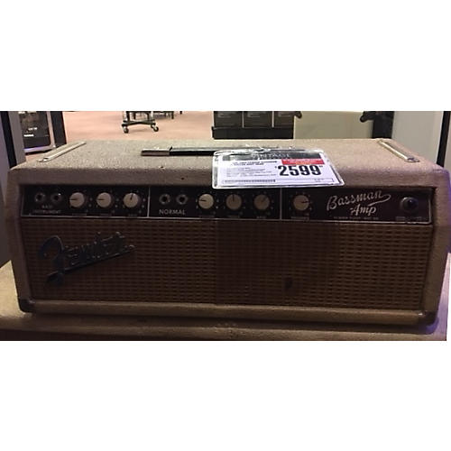 Fender 1963 BASSMAN Tube Guitar Amp Head