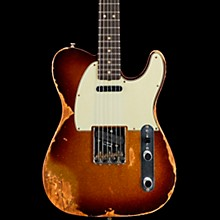 1963 Heavy Relic Telecaster Custom Built Electric Guitar Super Faded Aged 3 Color Sunburst Sparkle