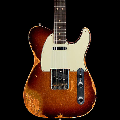 Fender Custom Shop 1963 Heavy Relic Telecaster Custom Built Electric Guitar