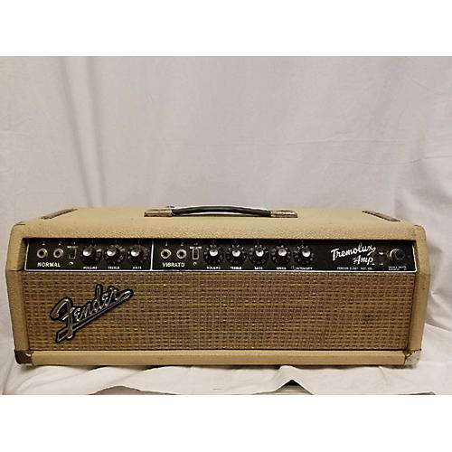 Fender 1964 Tremolux Head W Cab Tube Guitar Amp