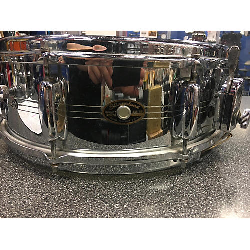 vintage slingerland 1964 5x14 gene krupa snare drum chrome 8 guitar center. Black Bedroom Furniture Sets. Home Design Ideas