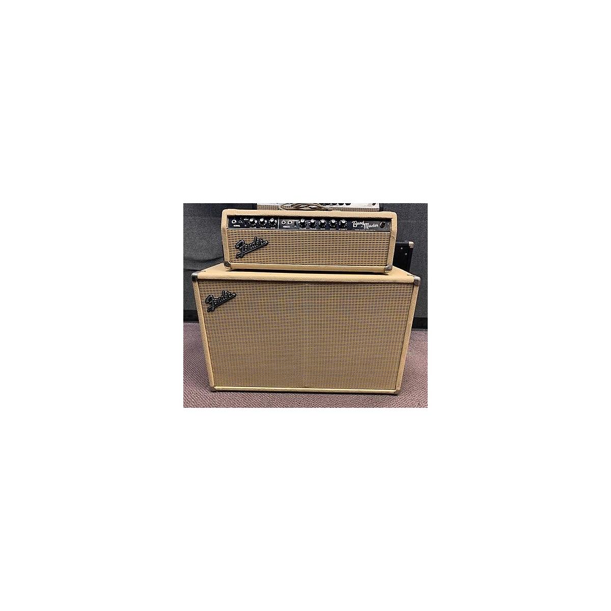 Fender 1964 Bandmaster Stack Blonde Tube Guitar Combo Amp