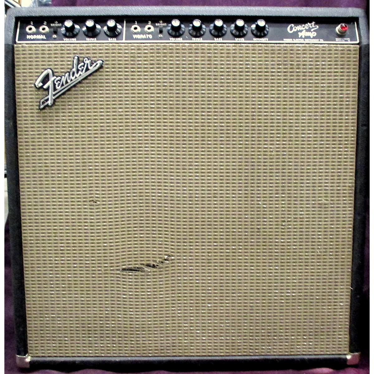 Fender 1964 Concert 4x10 Combo Tube Combo Amp Tube Guitar Combo Amp