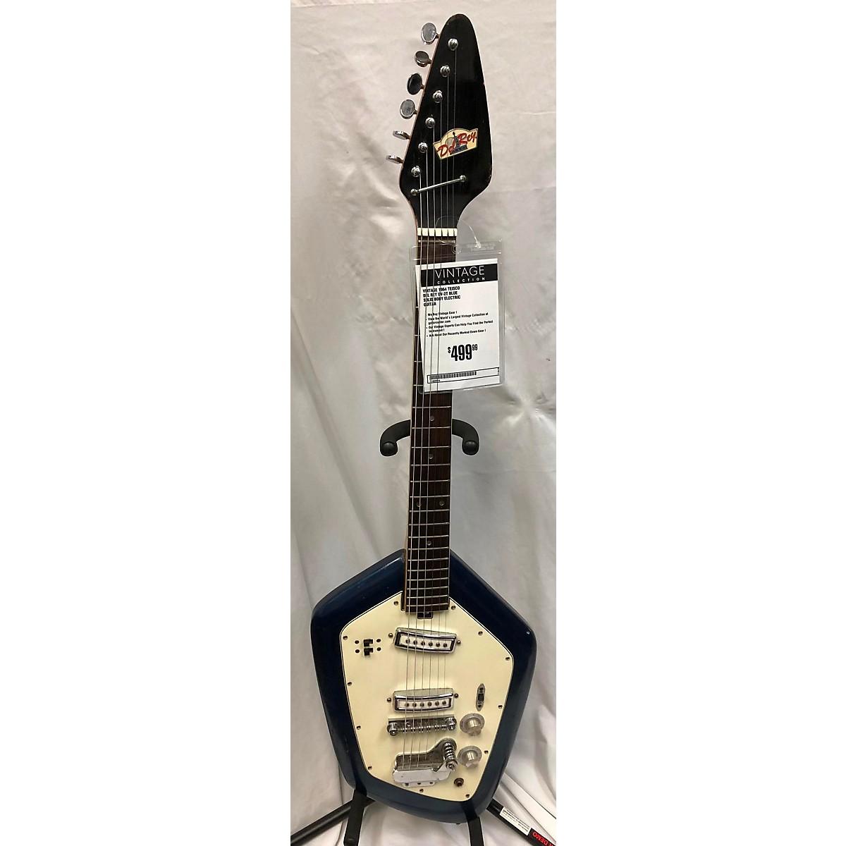 Teisco 1964 Del Rey EV-2T Solid Body Electric Guitar