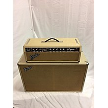Fender 1964 Fender Bandmaster Amp W/ Cab White/Gold Tube Guitar Amp Head