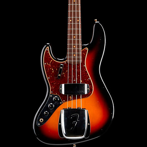 Fender Custom Shop 1964 Journeyman Relic Jazz Bass Left-Handed