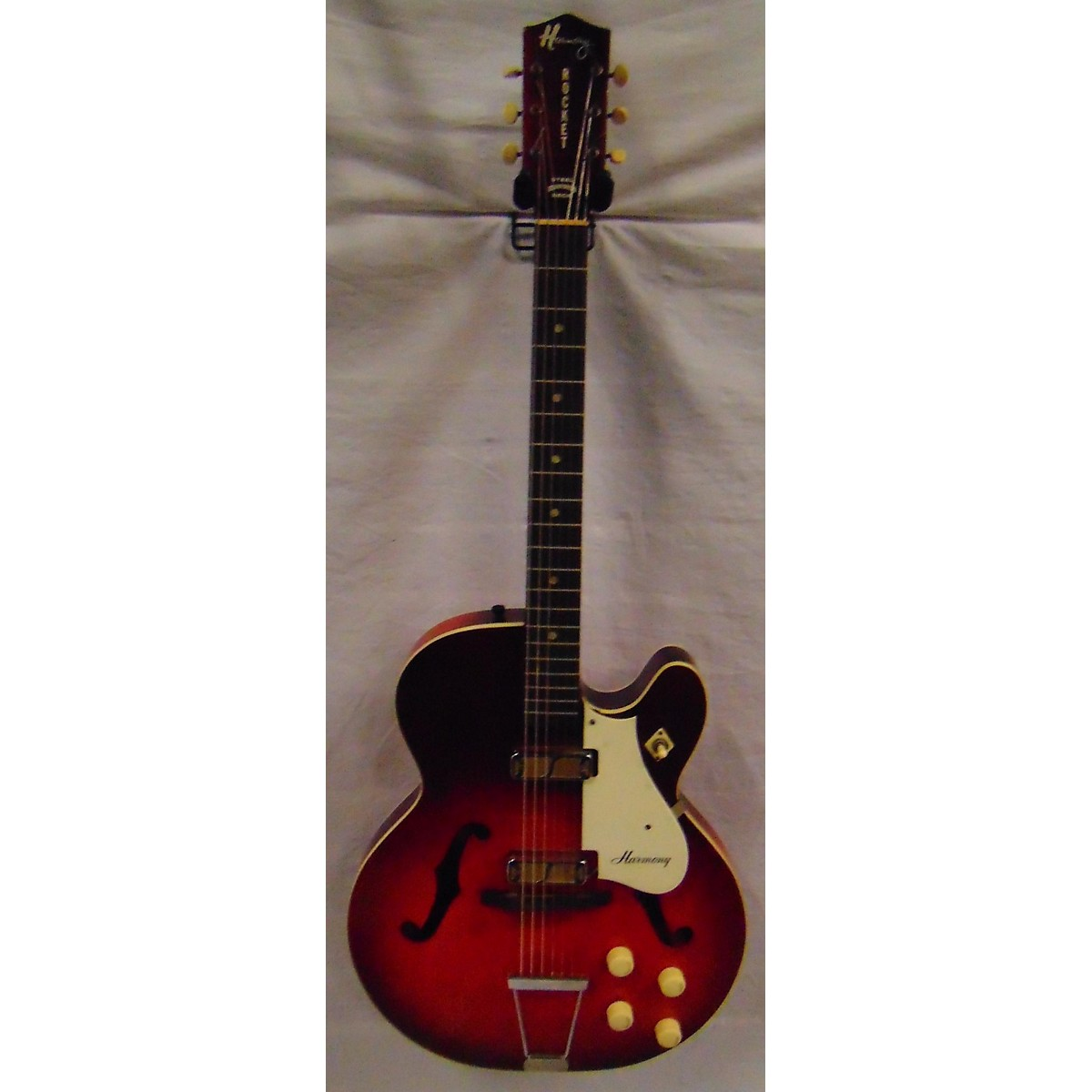 Harmony 1964 Rocket 2 Pickup Hollow Body Electric Guitar