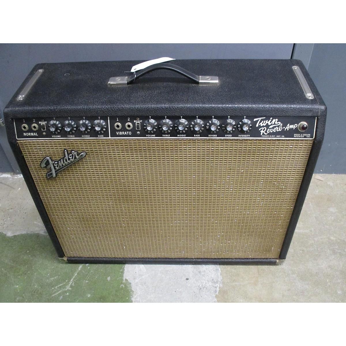 Fender 1964 TWIN REVERB Tube Guitar Combo Amp