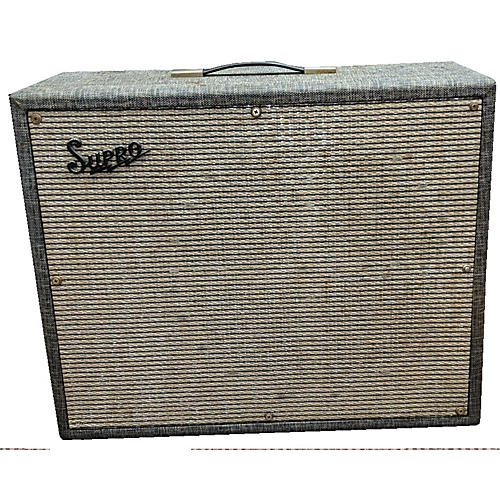vintage supro 1964 thunderbolt tube guitar combo amp guitar center. Black Bedroom Furniture Sets. Home Design Ideas