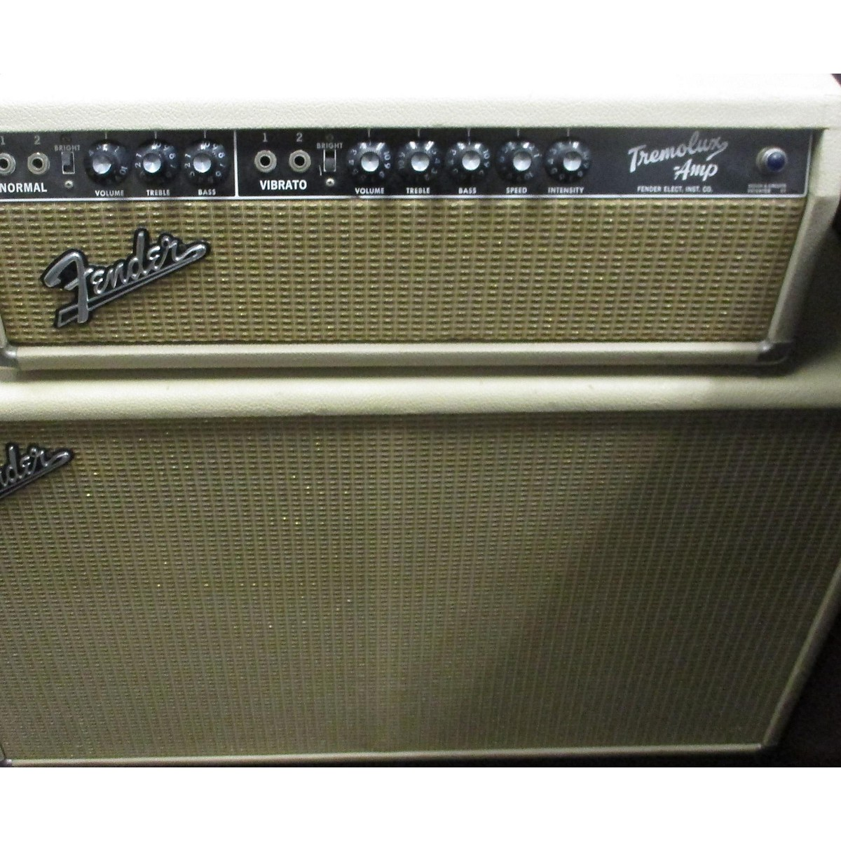 Fender 1964 Tremolux Head (2x12 Cabinet Included)