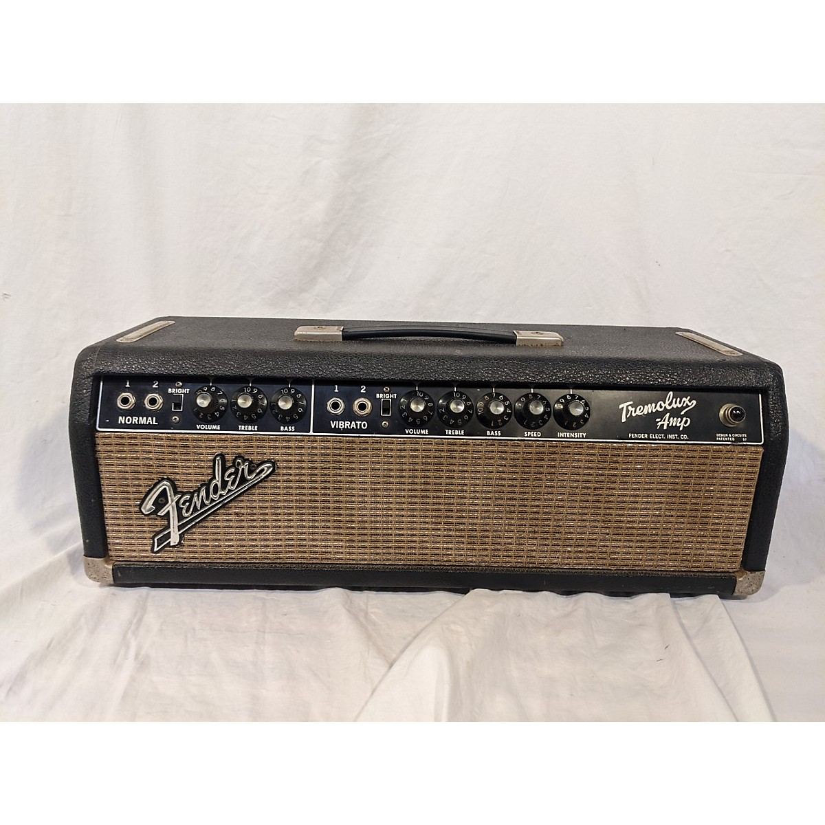 Fender 1964 Tremolux W/ Matching 2x10 Cab (non-Original Speakers) Tube Guitar Amp Head