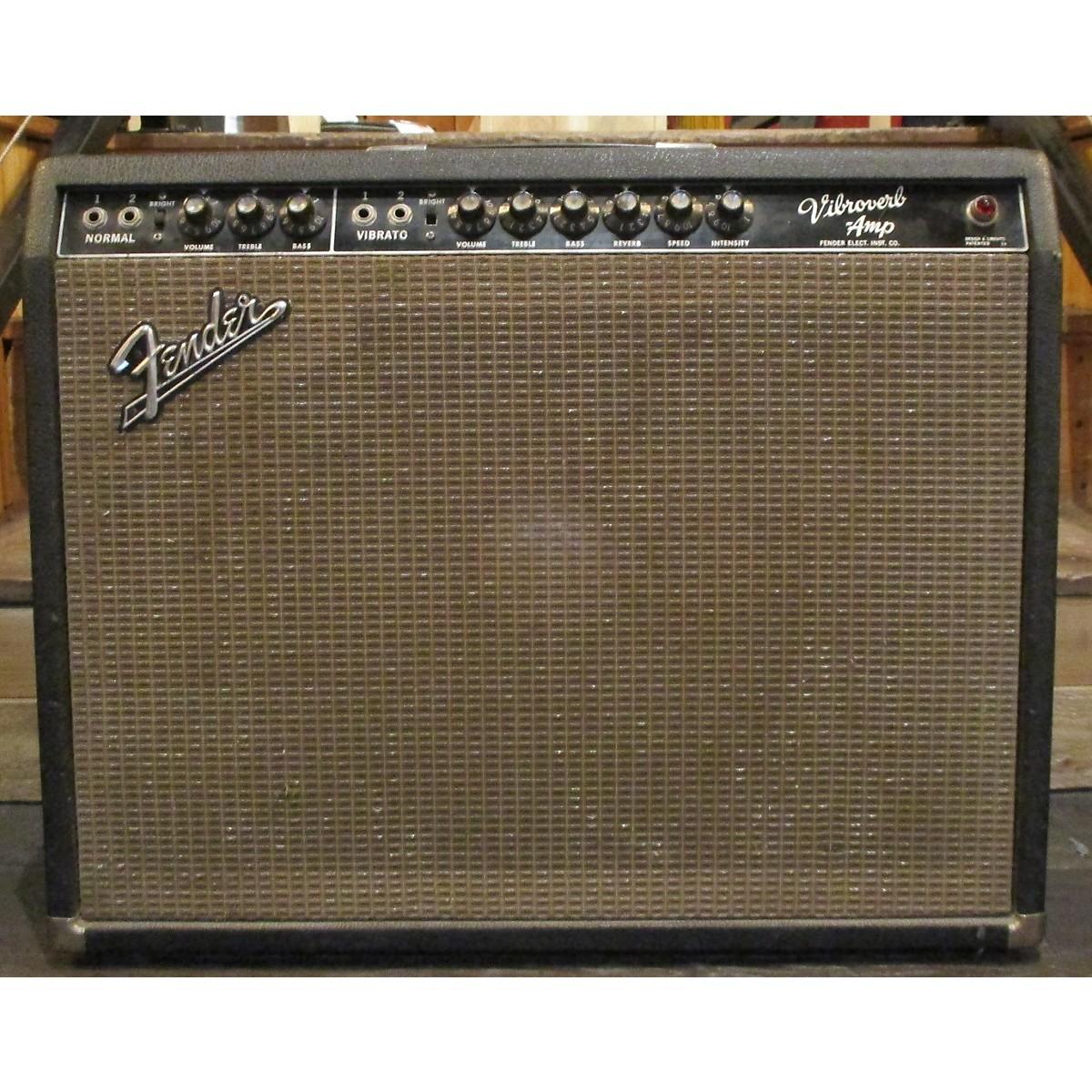Fender 1964 VIBROVERB Tube Guitar Combo Amp