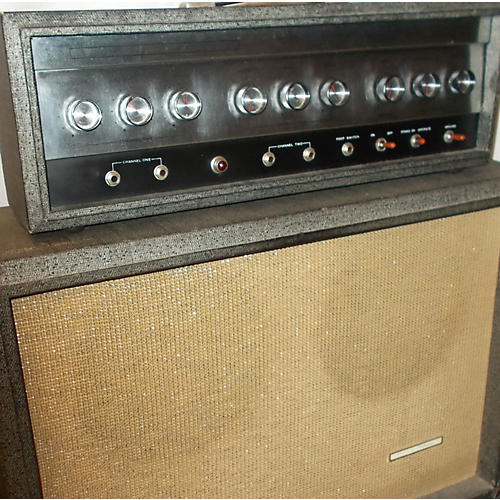 Silvertone 1965 1484 Twin Twelve Tube Guitar Combo Amp